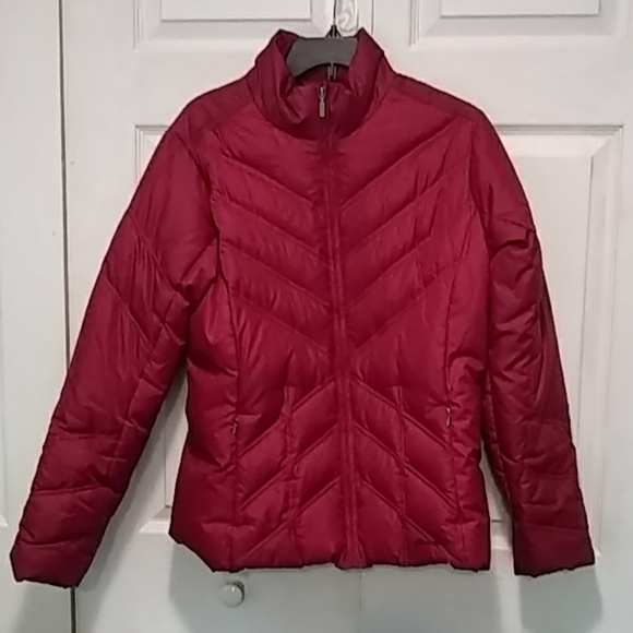 Eddie Bauer Premium Goose Down Winter Jacket Large